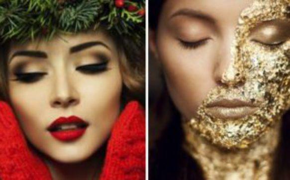 Make up: un viso d'oro per le feste