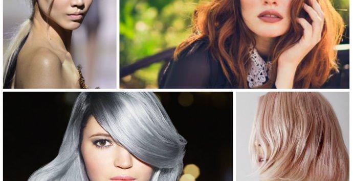 Colore capelli: tutte le tendenze 2018