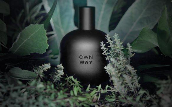 OWAY presenta OWN WAY, il profumo 100% di origine botanica