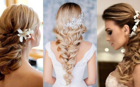 Spose: le acconciature con i capelli lunghi