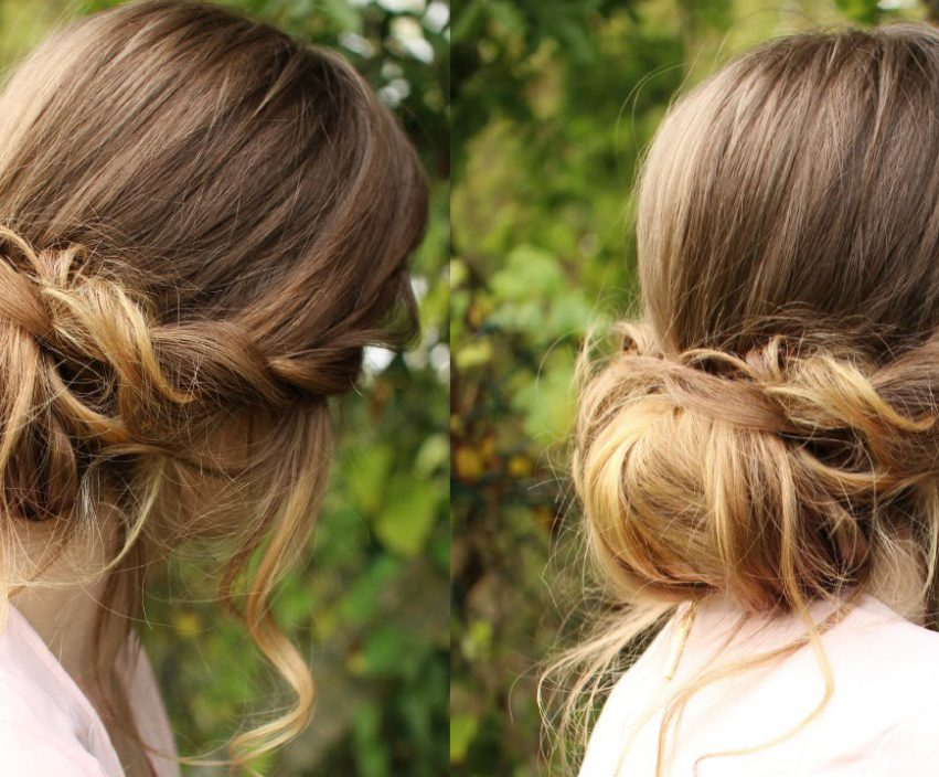 Lo chignon messy is the #newchic