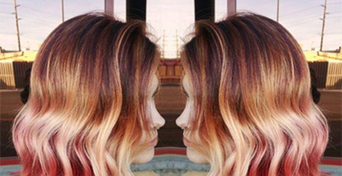 Sunset hair: il colore crazy dell'autunno inverno