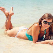 Idratare la pelle dopo l'esposizione solare