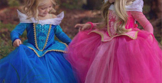 Le pettinature di carnevale per le piccole principesse