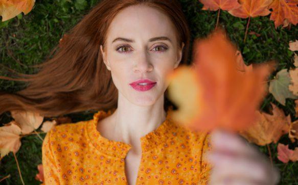 Il balayage perfetto per l'autunno è pumpkin