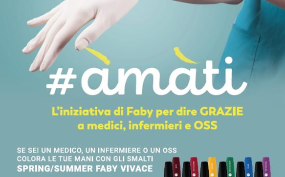 Faby #AMATI: l'iniziativa per ringraziare medici, infermieri e OSS